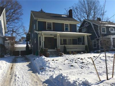 Bay Village, Rocky River, Fairview Park, Westlake, Lakewood Single Family Home For Sale: 1661 Marlowe Ave