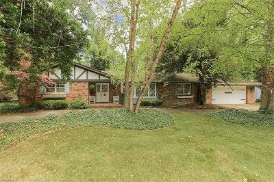 Rocky River Single Family Home For Sale: 18800 Story Rd