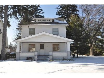 Westlake Single Family Home For Sale: 1166 Clague Rd
