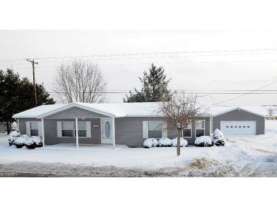 Guernsey County Single Family Home For Sale: 59062 Marietta Rd