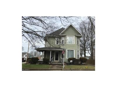 Muskingum County, Morgan County, Perry County, Guernsey County Single Family Home For Sale: 1103 Beatty Ave