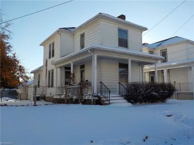 Zanesville Single Family Home For Sale: 610 Echo Ave