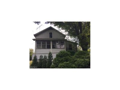 Salem OH Single Family Home Sold: $27,100