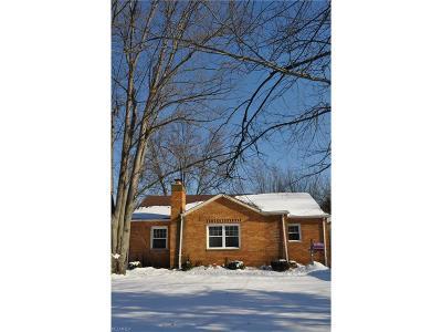 Single Family Home For Sale: 5839 Porter Rd