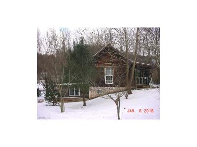 New Concord Single Family Home For Sale: 10870 Coshocton Rd