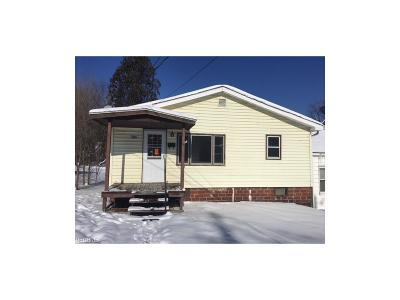 Salineville OH Single Family Home Sold: $10,000