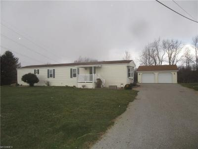 Zanesville Single Family Home For Sale: 3305 Boggs Rd