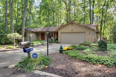Strongsville Single Family Home For Sale: 10569 Hickory Pl
