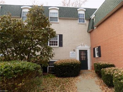 North Olmsted Condo/Townhouse For Sale: 4789 Columbia Rd #106
