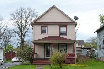 Struthers Single Family Home For Sale: 370 Elm St