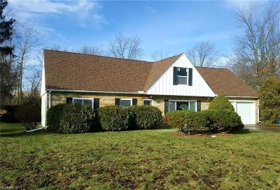 North Olmsted Single Family Home For Sale: 4786 Columbia Rd