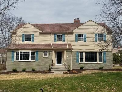 Shaker Heights Single Family Home For Sale: 22055 South Woodland Rd