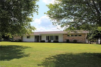 Vienna Single Family Home For Sale: 941 Youngstown Kingsville Rd Southeast