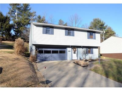Guernsey County Single Family Home For Sale: 131 Myrna Dr