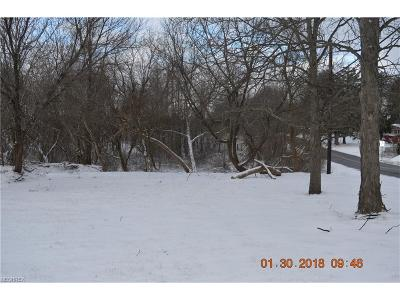 Copley Residential Lots & Land For Sale: V/L South Cleveland Massillon Rd