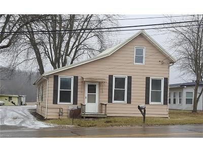 Perry County Single Family Home For Sale: 3844 State Route 93 Northeast