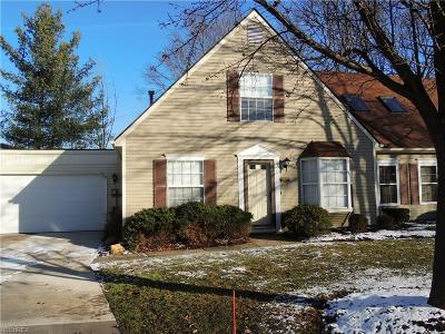 Twinsburg Condo/Townhouse For Sale: 9572 Olde Pond Ln