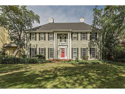 Shaker Heights Single Family Home For Sale: 15015 Onaway Rd