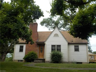 Zanesville OH Single Family Home Contingent: $109,900