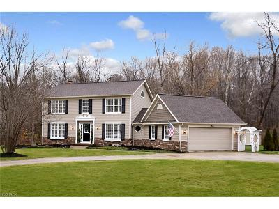 Geauga County Single Family Home For Sale: 18265 Rolling Brook Dr