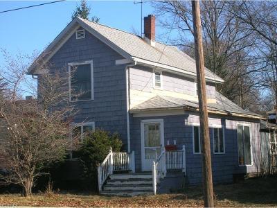 Medina County Single Family Home Contingent: 455 High St
