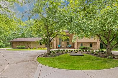 Pepper Pike Single Family Home For Sale: 28350 South Woodland Rd