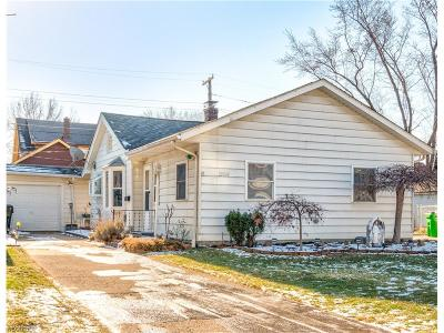 Wickliffe Single Family Home For Sale: 29108 Fuller Ave