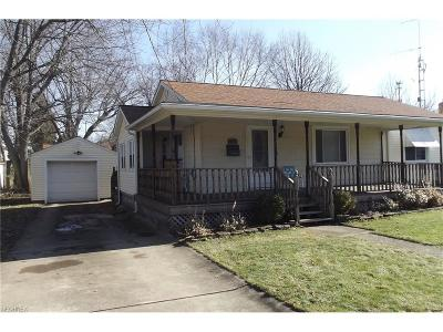 Alliance OH Single Family Home For Sale: $79,900