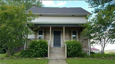 Guernsey County Single Family Home For Sale: 20275 Cadiz Rd