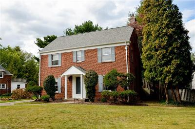 Fairview Park Single Family Home For Sale: 19242 Coffinberry Blvd