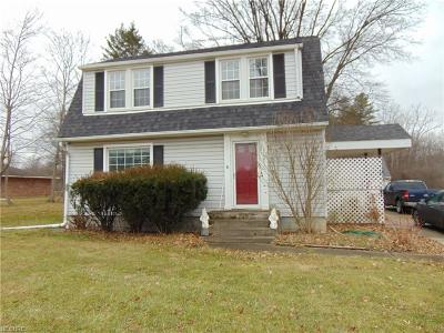 Single Family Home For Sale: 7778 Fitch Rd