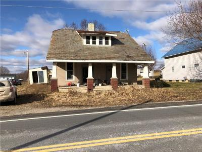 Perry County Single Family Home For Sale: 3835 State Route 345 Northeast