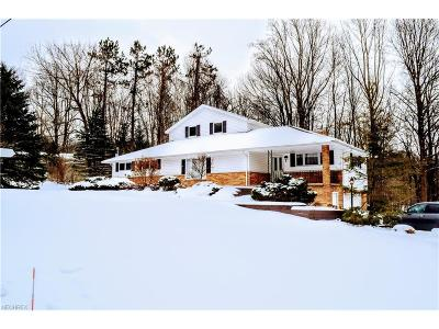 Geauga County Single Family Home For Sale: 9965 Wilson Mills Rd