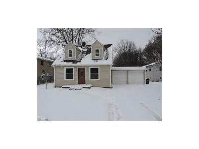 Single Family Home For Sale: 7184 Barton Rd