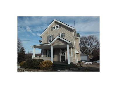 Struthers Single Family Home For Sale: 54 Center St