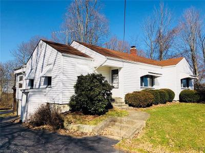 Single Family Home For Sale: 1209 Valley Rd