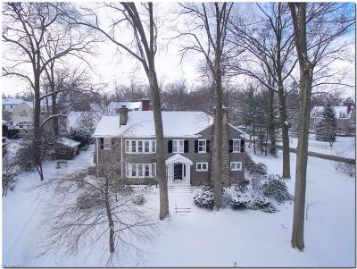 Cuyahoga County Single Family Home For Sale: 2592 Berkshire Rd