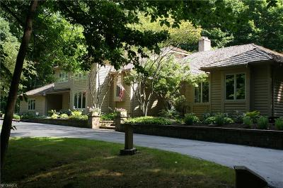 Moreland Hills Single Family Home For Sale: 10 River Mountain Dr