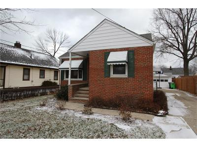 Willowick Single Family Home For Sale: 271 East 324 St