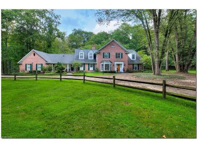 Gates Mills Single Family Home For Sale: 679 Chagrin River Rd
