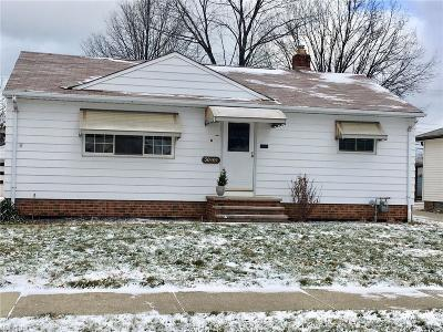Willowick Single Family Home For Sale: 30101 Forestgrove Rd