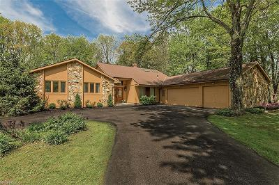 Moreland Hills Single Family Home For Sale: 37925 Chagrin Blvd