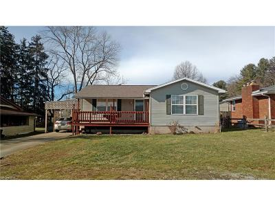 Belpre Single Family Home For Sale: 927 Wiley St