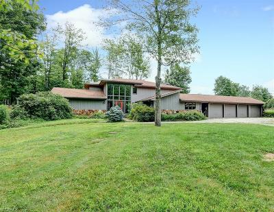 Chesterland Single Family Home For Sale: 11423 County Line Rd