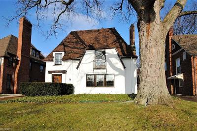Shaker Heights Single Family Home For Sale: 3389 Daleford Rd