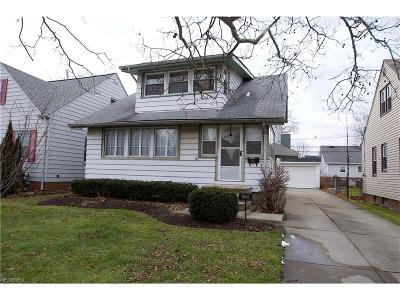 Willowick Single Family Home For Sale: 355 East 323rd St