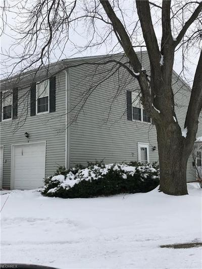 Mentor Condo/Townhouse For Sale: 7961 Independence Dr