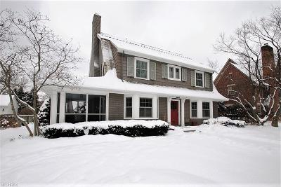 Shaker Heights Single Family Home For Sale: 2914 Torrington Rd
