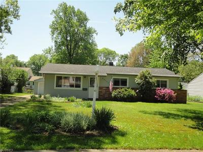 North Olmsted Single Family Home For Sale: 24195 Fairlawn Dr