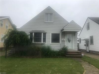 Cleveland Single Family Home For Sale: 6103 Alber Ave